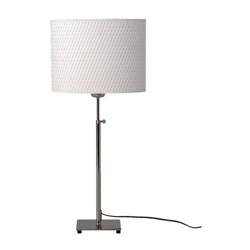Aläng Table Lamp, Nickel-plated, White by Ikea in The Other Woman