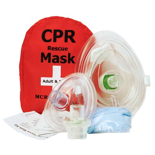 Adult & Infant CPR Mask Combo Kit with 2 Valves, MCR Medical by MCR Medical Supply in Iron Man 3