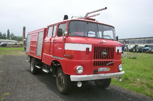 W50 Firetruck by IFA in Fast & Furious 6