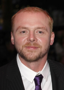 Simon Pegg Style and Fashion