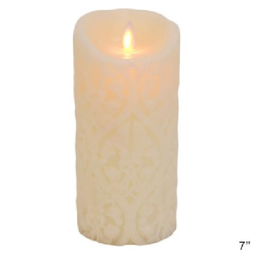 Damask Flameless Candle by Mystique in The Other Woman