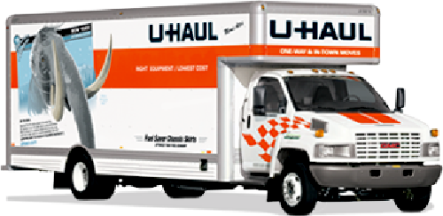 20ft Moving Truck Rental by U Haul in Neighbors