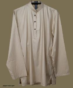 Mens Deluxe Solid Color Kurta Shirt by Alhannah in Iron Man 3