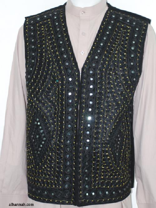 Men's Embroidered Vest by Alhannah in Iron Man 3