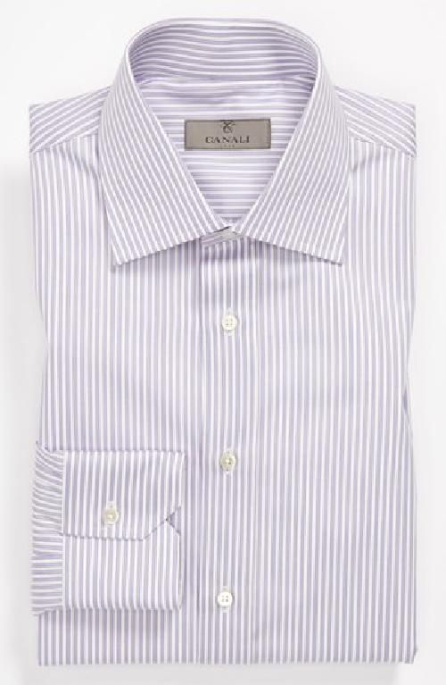 Regular Fit Dress Shirt by Canali in Crazy, Stupid, Love.