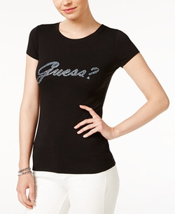 Guess - R3 Puff-Script Logo T-Shirt