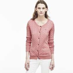 Lacoste - Cable Knit Cardigan