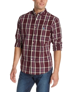 U.S. Polo Assn.  - Long Sleeve Button Down Plaid Sport Shirt