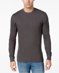Club Room - Jersey Cotton Long-Sleeve T-Shirt