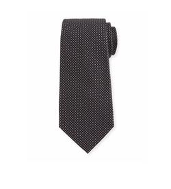 Armani Collezioni  - Woven Neat Silk Tie