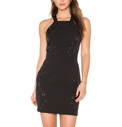 Greylin - Lani Grommet Halter Dress
