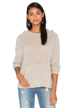 360 Sweater - Anabel Cashmere Hooded Sweater