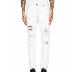 Palm Angels - Regular Fit Ripped Jeans