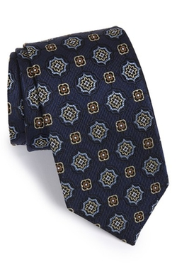 J.Z. Richards - Medallion Silk Tie