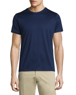 Moncler  - Side-Striped Short-Sleeve Crewneck T-Shirt