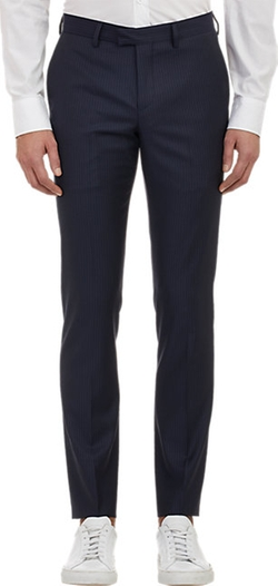 Band of Outsiders  - Pin-Dot Stripe Trousers
