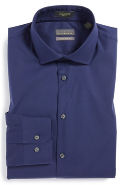 Calibrate - Extra Trim Fit Stretch Dress Shirt