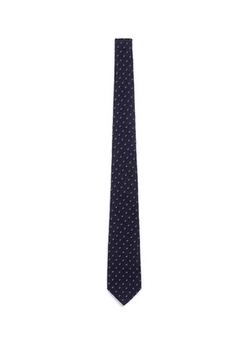 Canali - Dot Jacquard Silk Tie