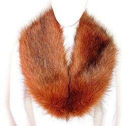 Seven & Nine Service - Faux Fur Neck Scarf
