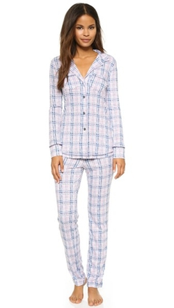 Love+Grace - Plaid Cassie PJ Set