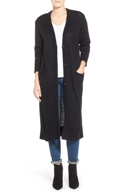 Kensie - V-Neck Duster Cardigan