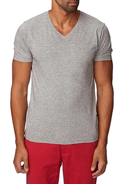 21Men - Heathered V-Neck Tee Shirt