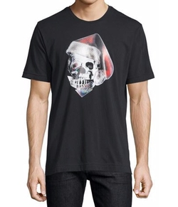 Robert Graham - Santa Skull Graphic T-Shirt