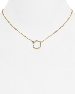 Rebecca Minkoff - Open Pendant Necklace