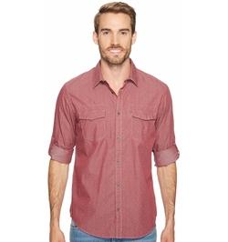 Calvin Klein Jeans - Tack Print On Chambray Shirt