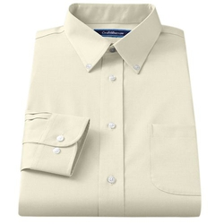 Croft & Barrow® - Broadcloth Button-Down Collar Dress Shirt