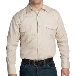 Roper - Classic Tone-on-Tone Print Western Shirt