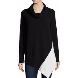 Neiman Marcus - Colorblock Cashmere Tunic
