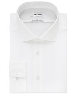 Calvin Klein - Performance Solid Dress Shirt