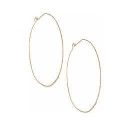 Panacea - Large Lever Back Hoop Earrings
