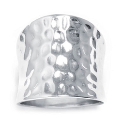JCPenney - Concave Hammered Ring