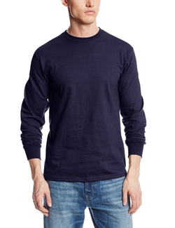 Soffe - Long-Sleeve Cotton T-Shirt