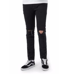 Topman - Ripped Skinny Fit Jeans