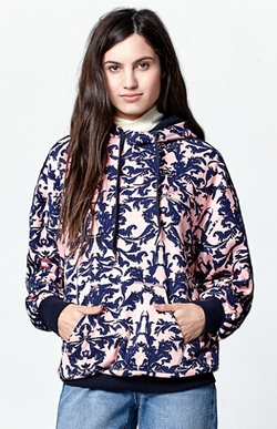 Adidas  - Baroque Ornament Print Pullover Hoodie