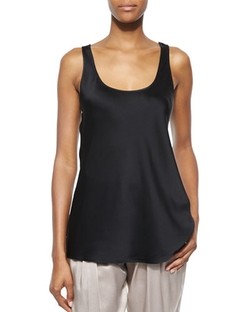 Michael Kors Collection   - Scoop-Neck Tank Top