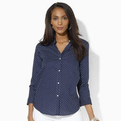 Ralph Lauren - Polka-Dot Cotton Shirt
