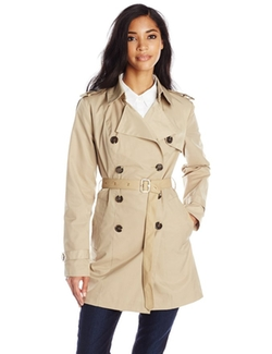 Sam Edelman - Adriana Double-Breasted Trench Coat