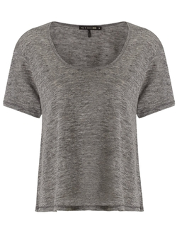 Rag & Bone - Heather Grey Relaxed Cody T-Shirt