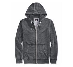 Quiksilver - Zipper-Front Drawstring Hoodie