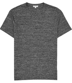 Perri  - Mottled V-Neck T-Shirt
