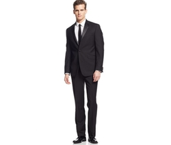 Kenneth Cole Reaction  - Slim-Fit Black Tuxedo