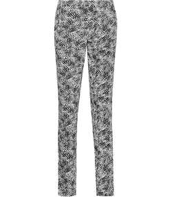 Olivia  - Monochrome Print Trousers