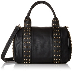 MG Collection - Gothic Studded Barrel Bag