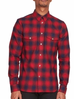 Givenchy - Two-Pocket Plaid Shirt