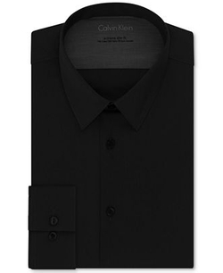 Calvin Klein X - Extra Slim-Fit Solid Dress Shirt