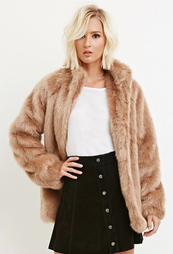 Forever 21 - Faux Fur Coat